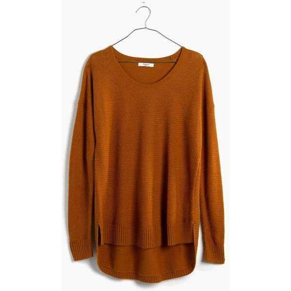 MADEWELL Chronicle Texture Pullover Sweater ($80) ❤ liked on ...