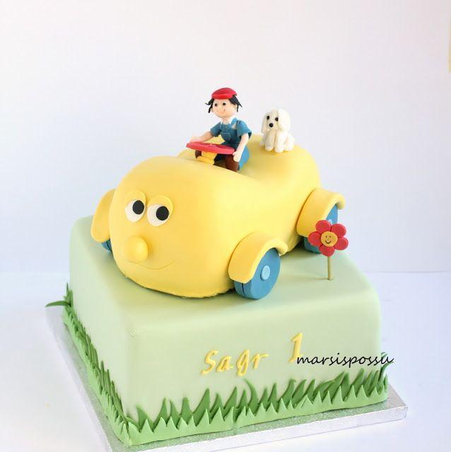 Marsispossu: Lastenkakku, Children cake