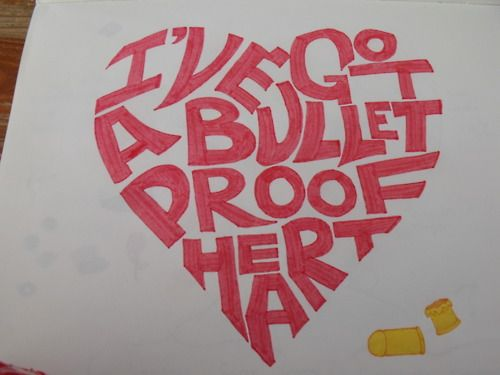 Bulletproof Heart- My Chemical Romance