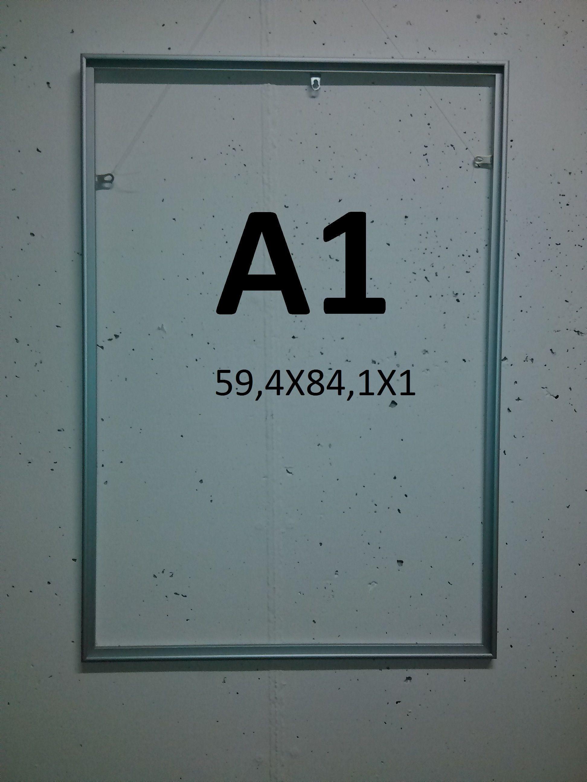 Marco de Aluminio para Carteleria 5€ Vendo marcos de alumino en ...