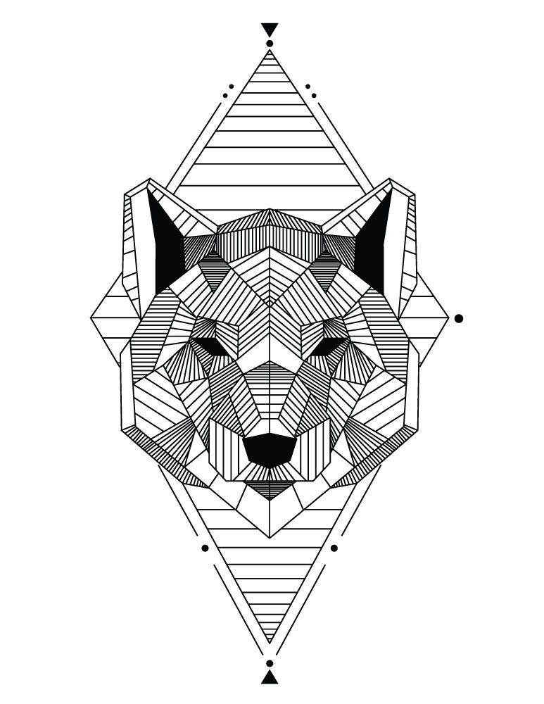 Amazing Coloriage Animaux A Imprimer In 2021 Coloring For Kids Coloring Pages Geometric Tattoo