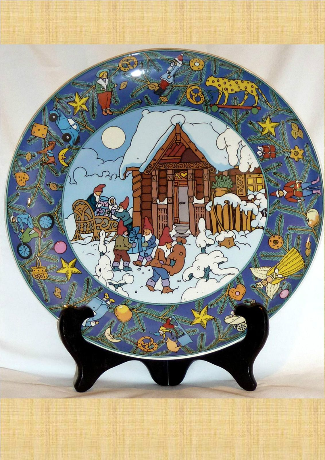 Villeroy and boch display plate christmas in europe for Villeroy and boch christmas