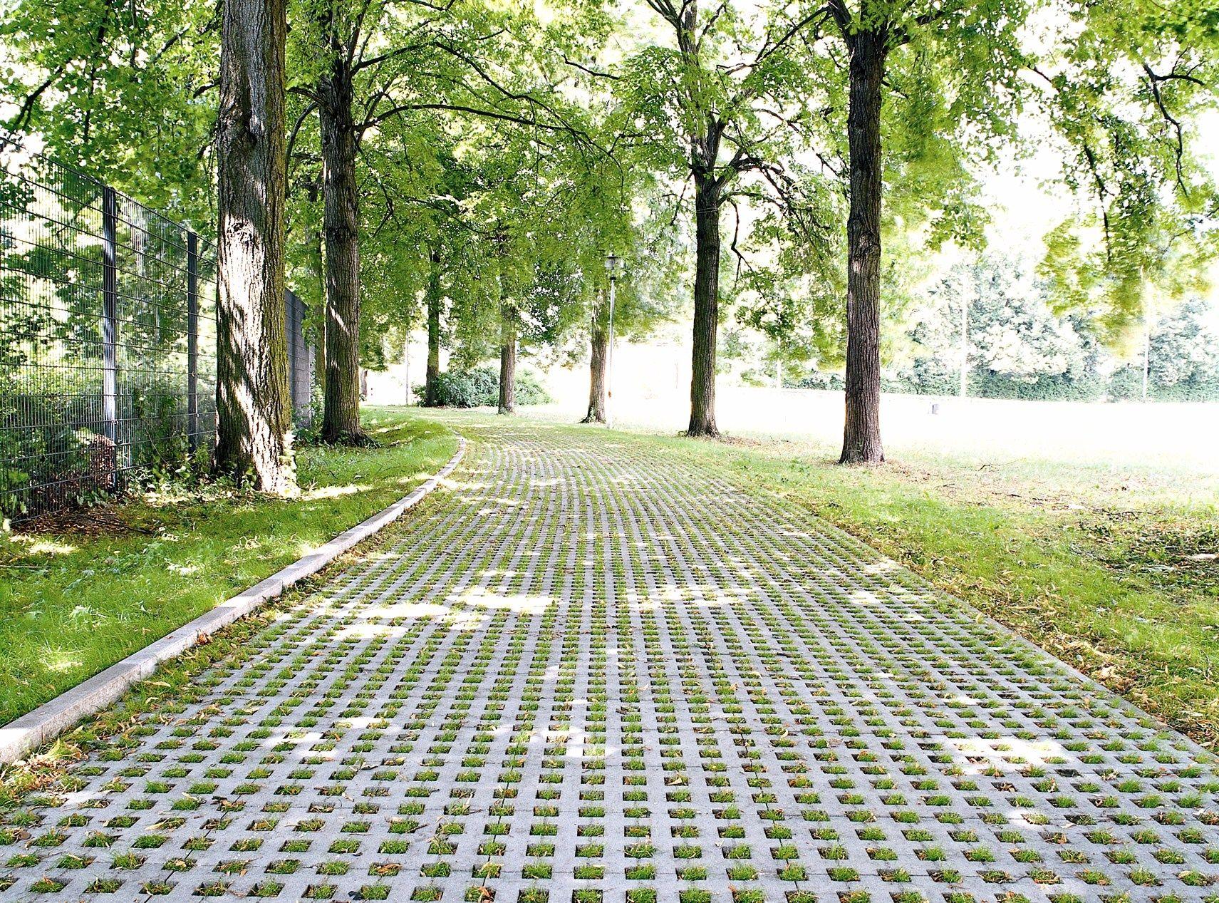 Dalle Beton Parking Herbe dalles gazon raga - urbamat environnement | gazon
