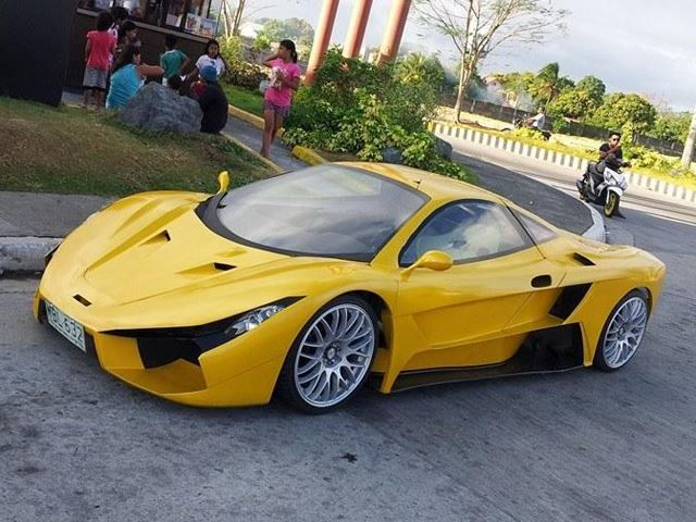 Introducing The Aurelio The Philippines First Supercar With Images Super Cars Used Cars Near Me Unique Cars