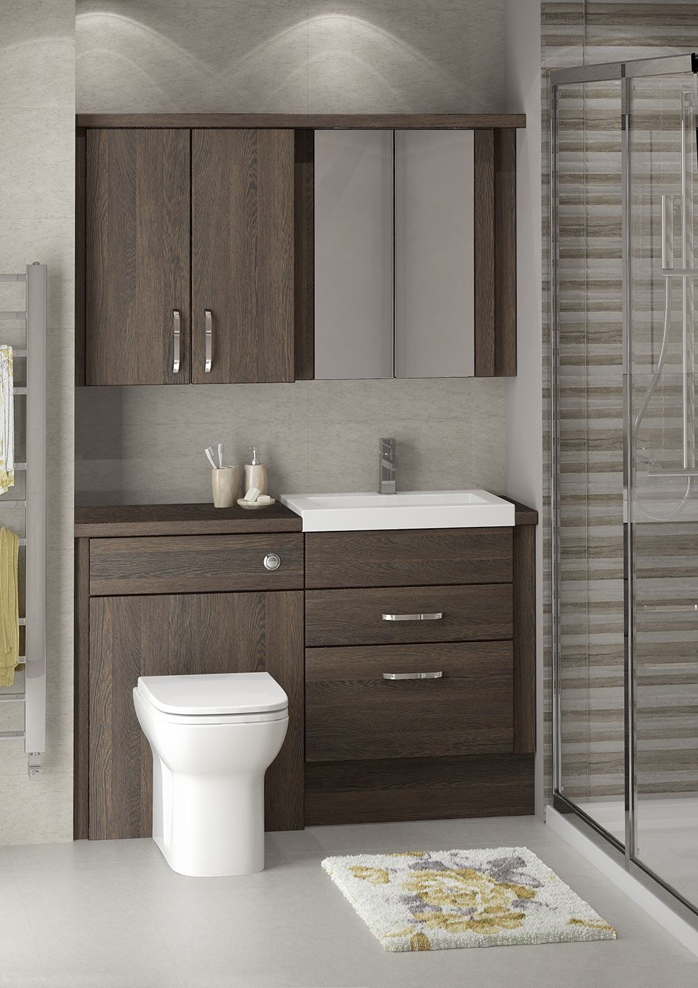 Create A Timeless And Relaxing Style For Your New Bathroom Fitted Bathroom Storage Allows Y Fitted Bathroom Fitted Bathroom Furniture Bathroom Fitted Cabinets
