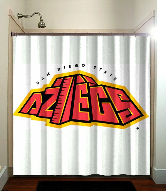 San Diego State Aztecs Sdsu Logo Cool Shower Curtains Fabric