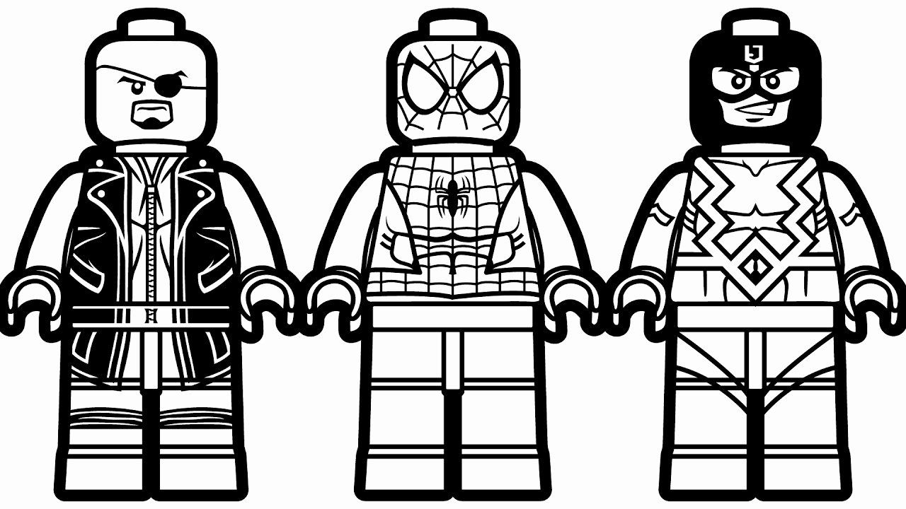 Lego Spiderman Coloring Page Best Of Lego Spiderman