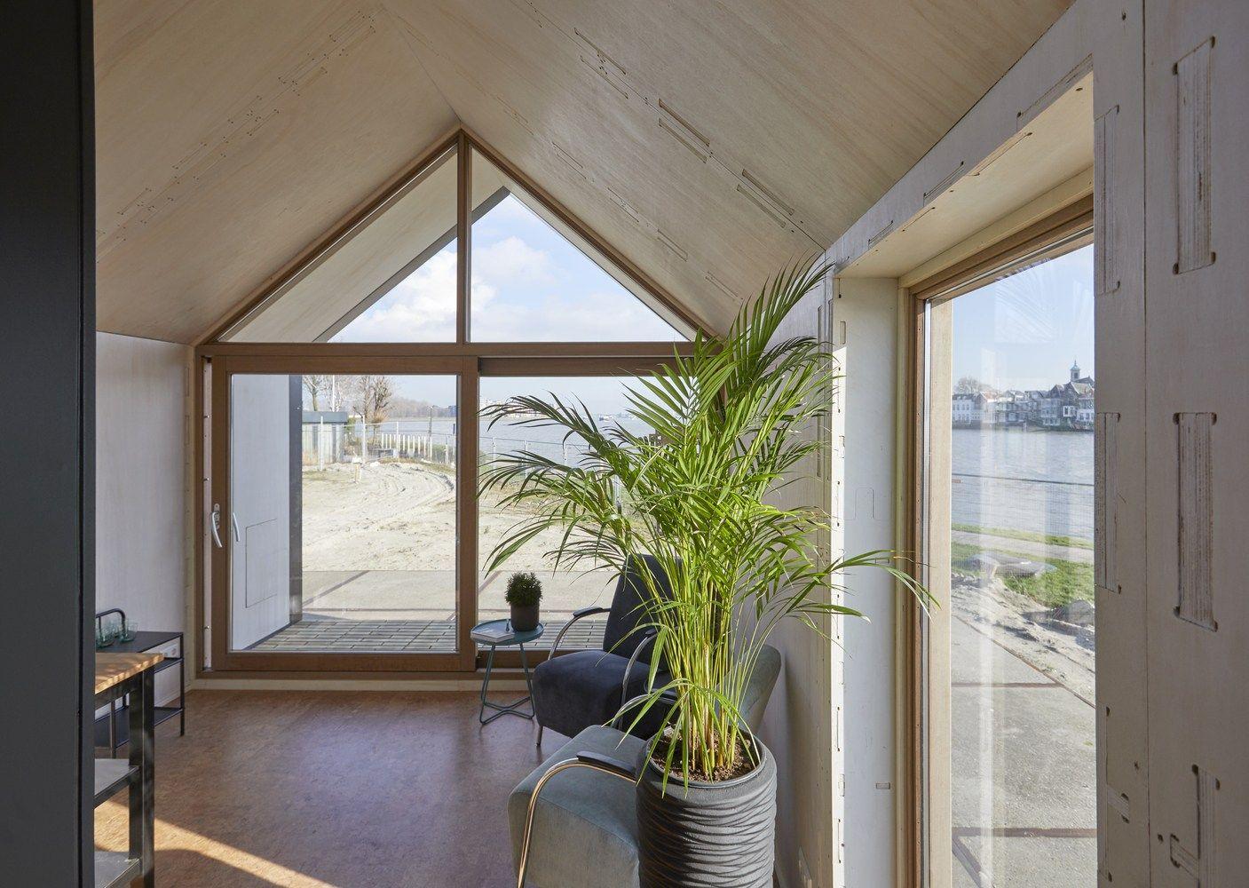 Cette mini maison modulaire de 40m2 durable et passive est proposée gratuitement en open source PLANETE DECO a homes world
