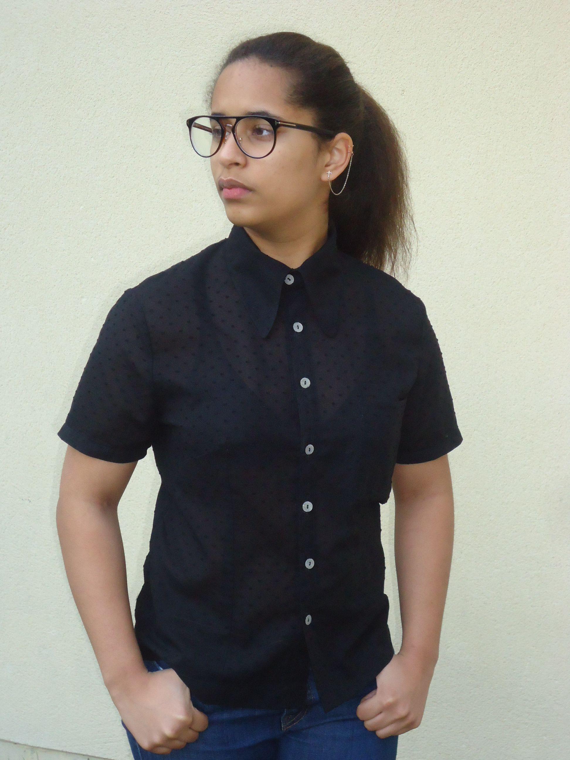 Chemisette vintage - modèle Lily shirt de Jenny Hellström Ruas | Sew ...