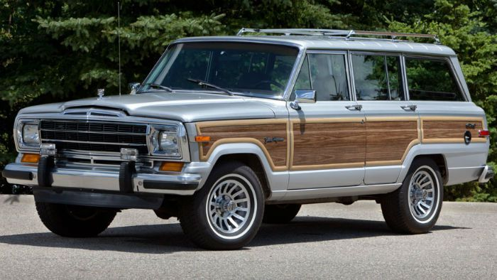 2018 Jeep Grand Wagoneer Woody Model Autos