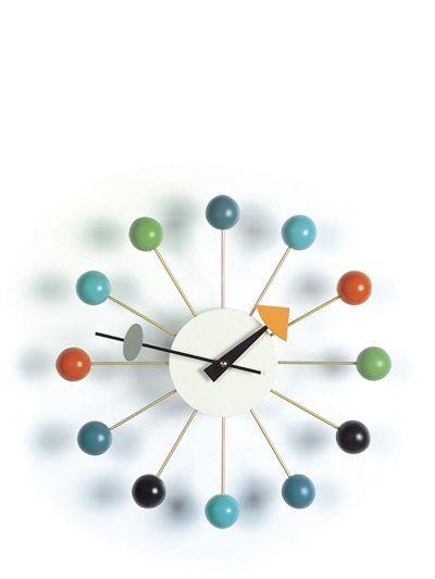 Luisaviaroma Com Vitra Ball Clock Nelson Ball Clock Wall Clock George Nelson Clocks