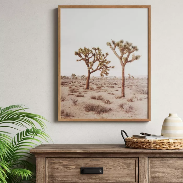 24 X 30 Joshua Tree Framed Print Threshold In 2020 Framed Wall Canvas Frames On Wall Frame