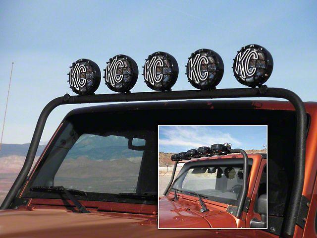 $124 KC HiLiTES Overhead Light Bar - Tilt