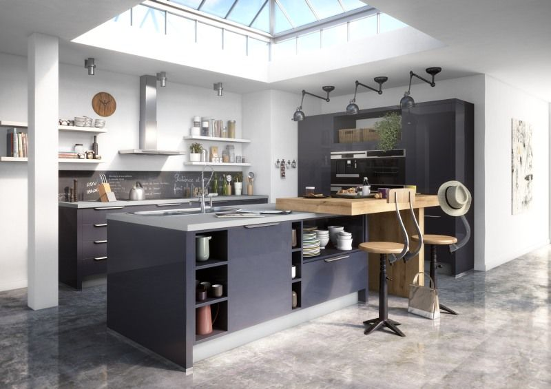 Loft style IXINA Keukens  Elektro Pinterest Lofts and Kitchens