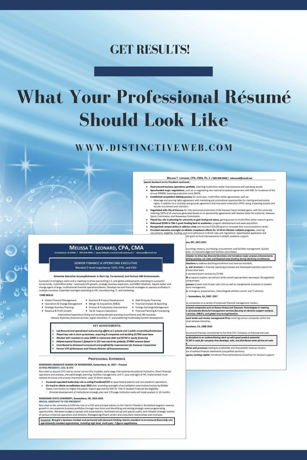 Professionally Written Resumes That Get Results in 2020