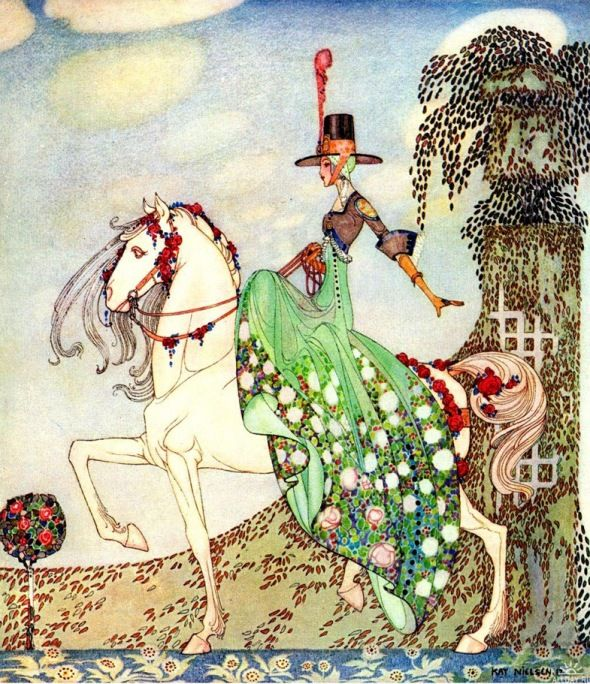 Kay Nielsen draws are amazing!