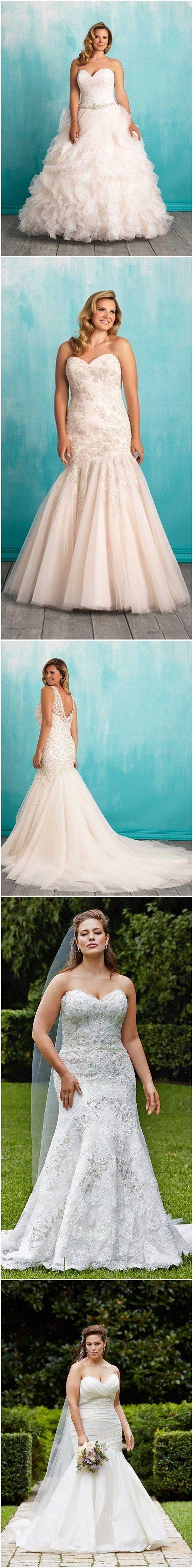 100 Gorgeous Plus-Size Wedding Dresses | Wedding dress, Wedding and ...