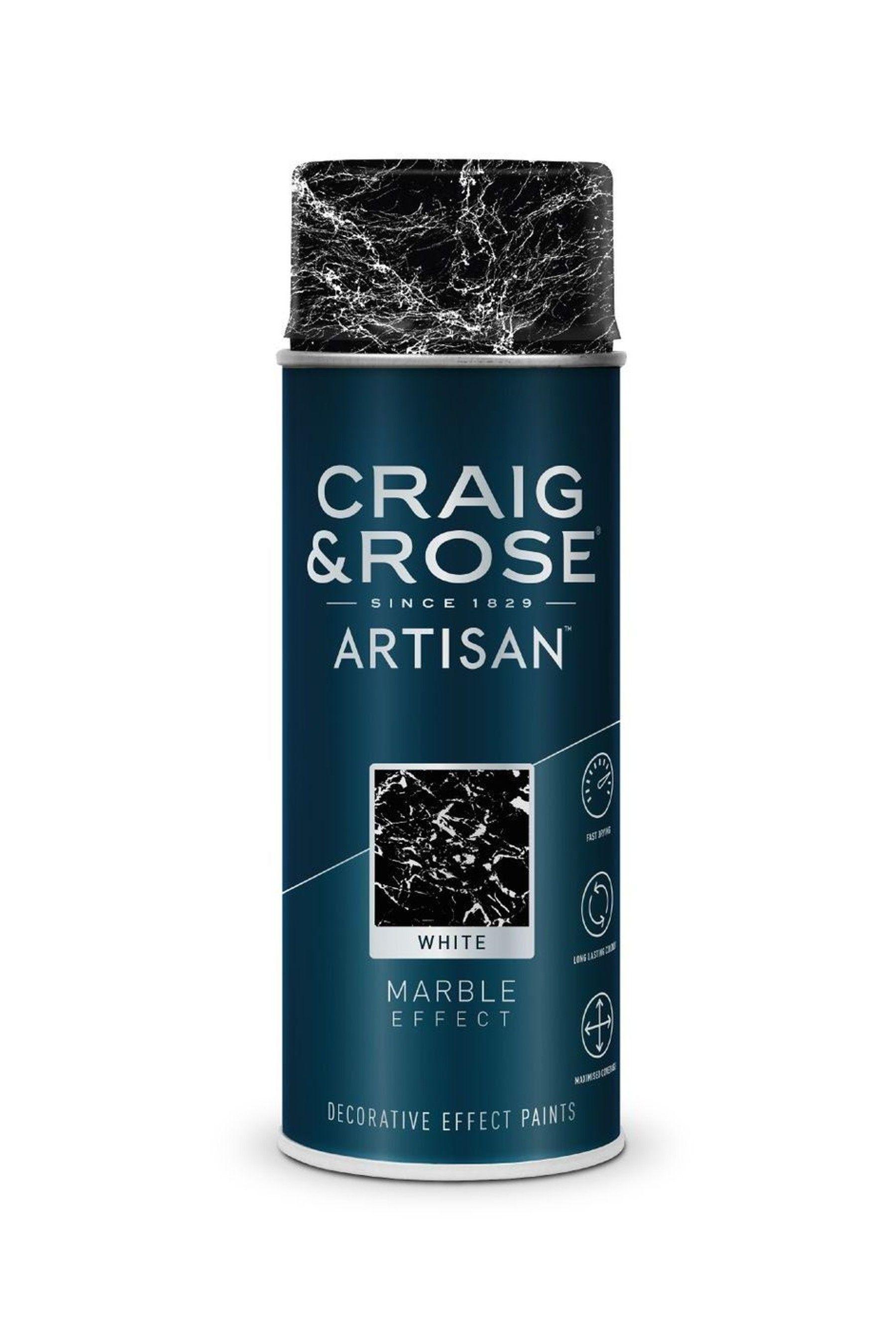 Craig Rose White Marble Effect Spray Paint White Marble Effect Spray Painting Painting