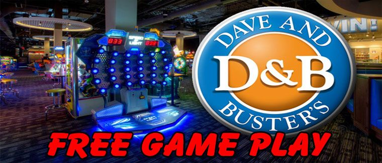 Dave and busters coupon dave busters