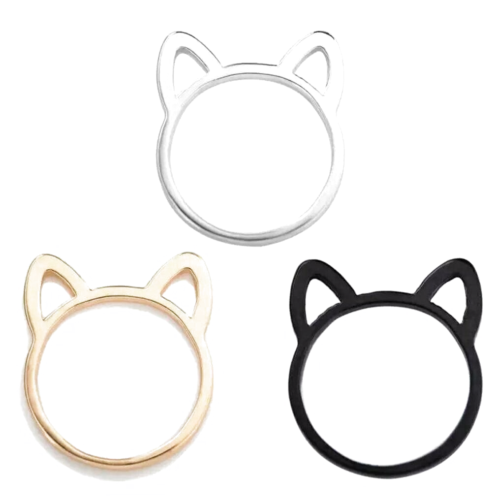 Cat Or Dog Ears Ring Fashion Jewelry Women Ladies Girls Animal Pet Rescue Cat Jewelry Ideas Of Cat Jewelry Fashion Rings Women Jewelry Fashion Jewelry