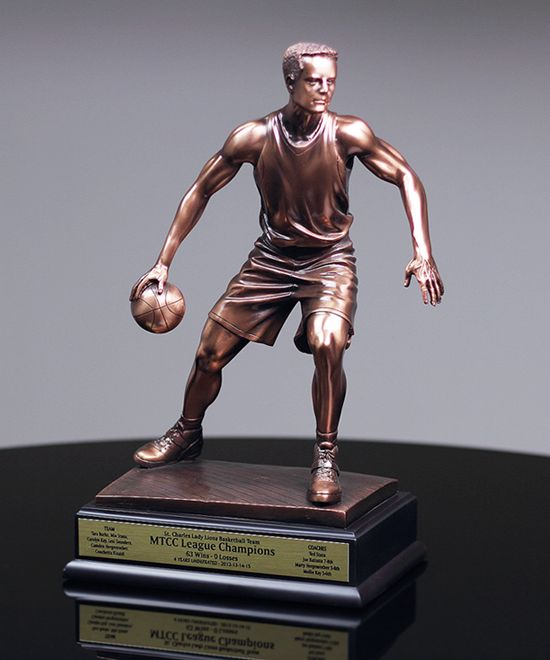 MVP Basketball Sculpture | Basketball Trophies & Awards