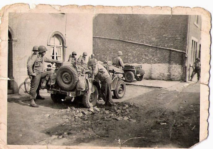 Liberation De Warsage Pres De Vise Fin Septembre 1944 Belgium