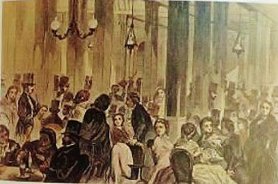 Antiguos cafés de Madrid y otras cosas de la Villa.