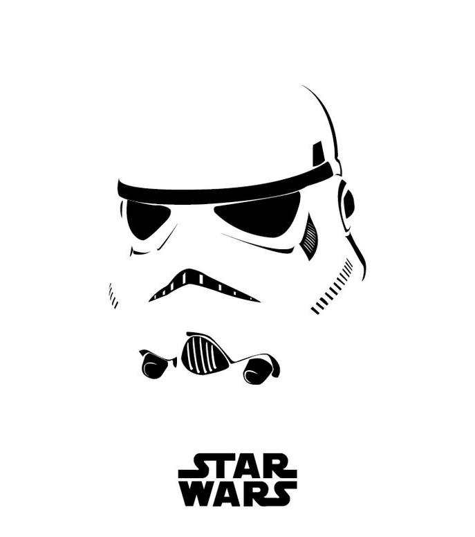 image result for stormtrooper stencil template 3 laser cutting