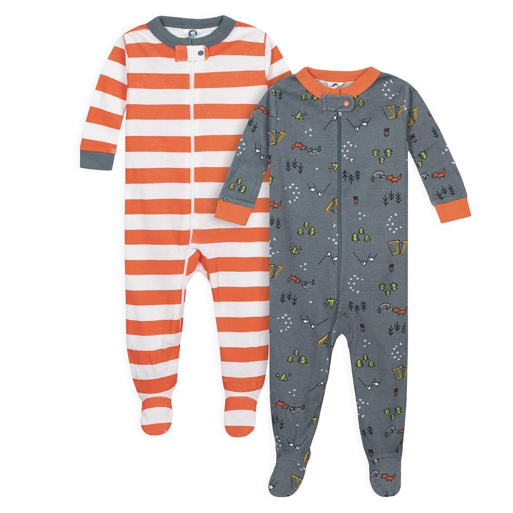 11c42af39 2-Pack Baby Boys Camper Snug Fit Footed Pajamas | Sleepwear ...