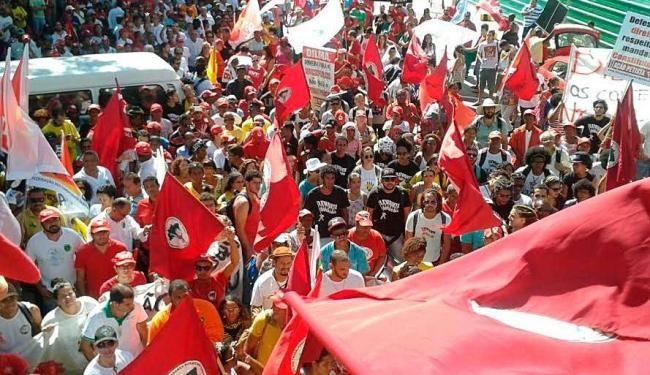 Pregopontocom Tudo: Trabalhadores realizam ato em defesa da Petrobras