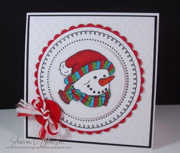 http://notimetostamp.blogs.splitcoaststampers.com/2009/08/30/old-fashioned-christmas-snowman/