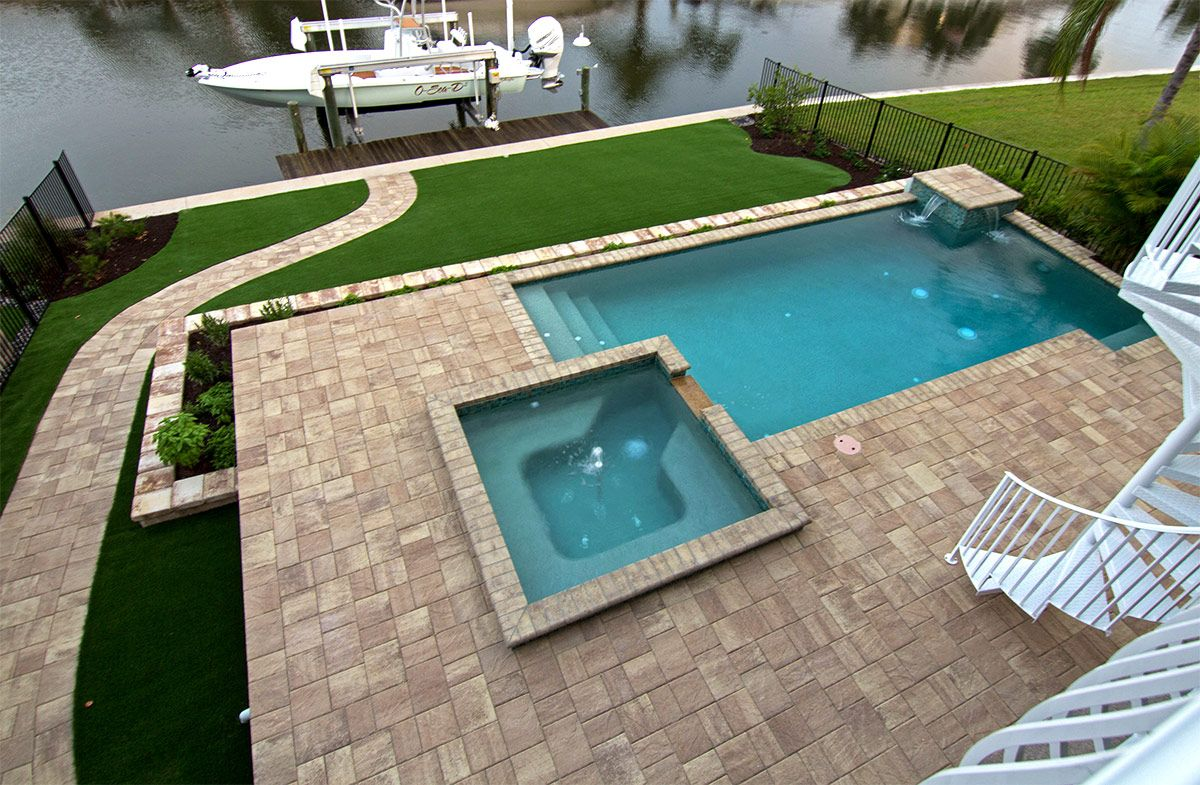 Stonehurst Sand Dune Pavers From Tremron Provide Your Pool