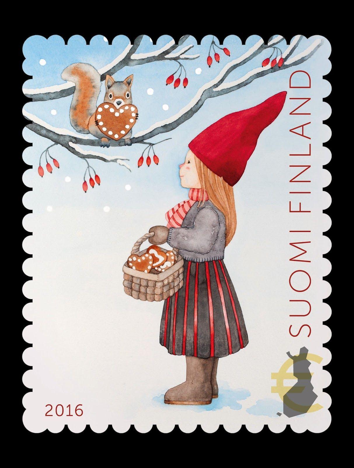 joulupostimerkki 2016 christmas postage