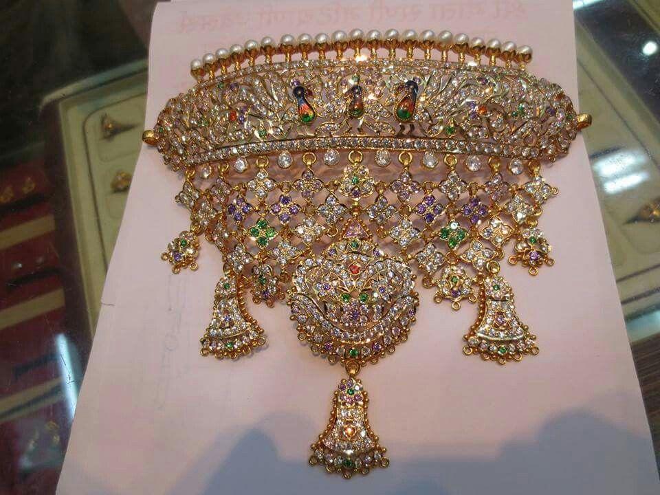 Rajputi jewellery beautiful aad by Kuldeep Singh | Royal rajputi ...