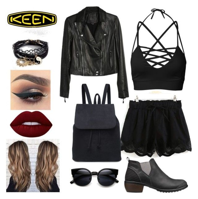 """So Fresh and So Keen: Contest Entry"" by dwaylightt ❤ liked on Polyvore featuring Keen Footwear, Paige Denim, ASOS, Lime Crime and keen"