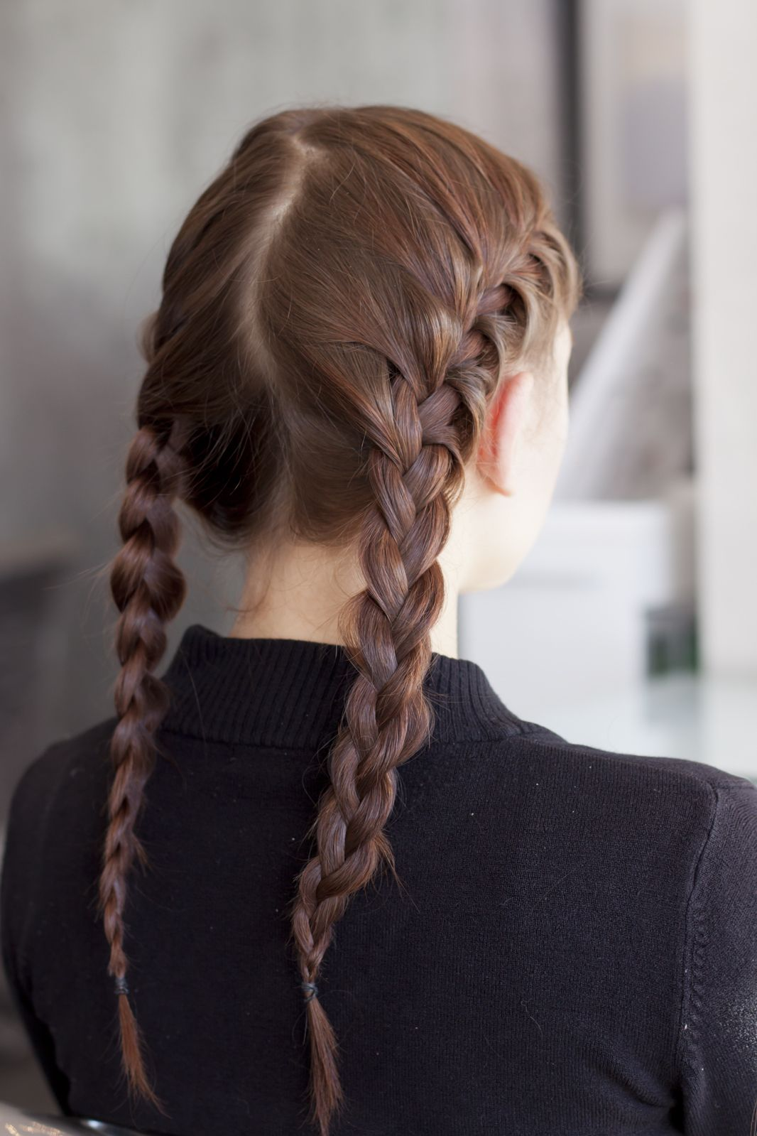 You Totally Got This 4 Easy Braids For Rookies Rope Braided Hairstyle French Braid Pigtails Braided Hairstyles