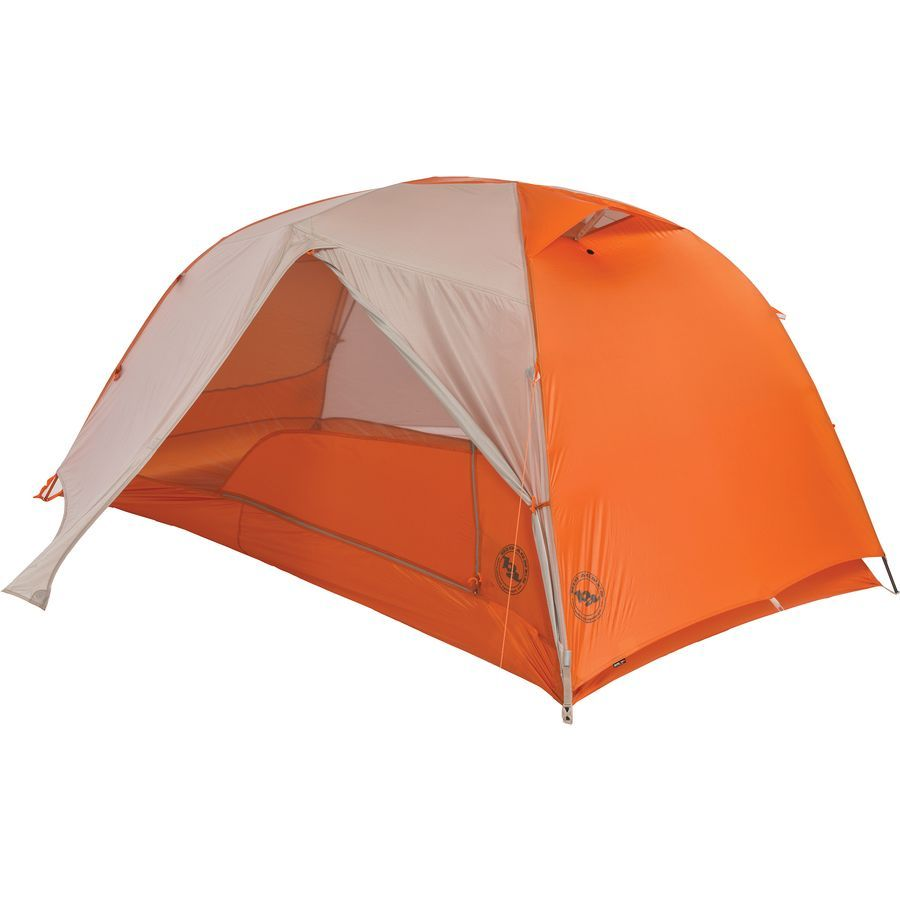 Big Agnes Copper Spur Hv Ul2 Tent 2 Person 3 Season Gray Orange On Sale Tent Backpacking Tent Hiking Tent