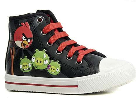 Angry Birds, Kengät, Hightops, koko 34. 20,93 €
