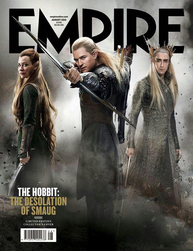 Empire Cover - The Hobbit: The Desolation of Smaug