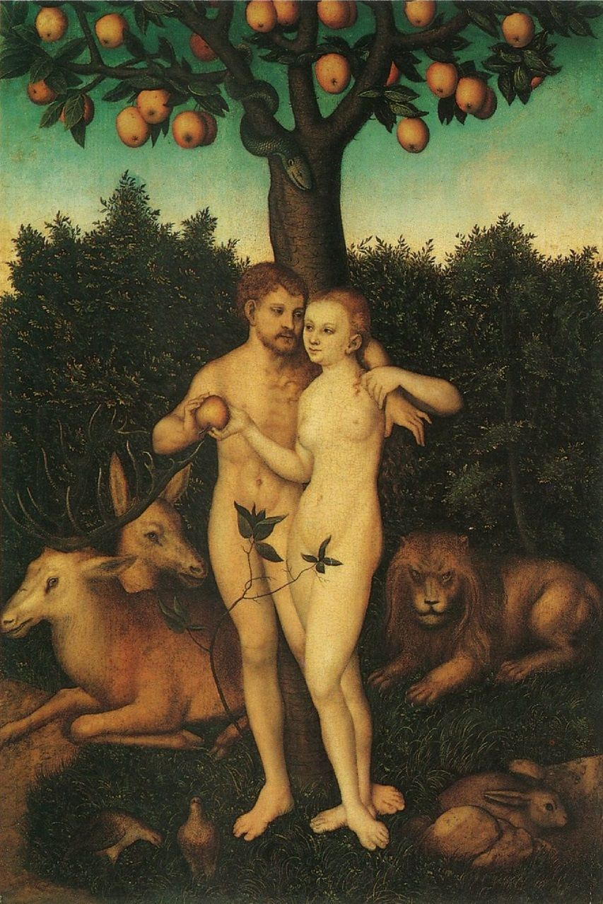 Cuadros De Adan Y Eva Lucas Cranach The Elder The Fall Of Man Adam And Eve Schloss