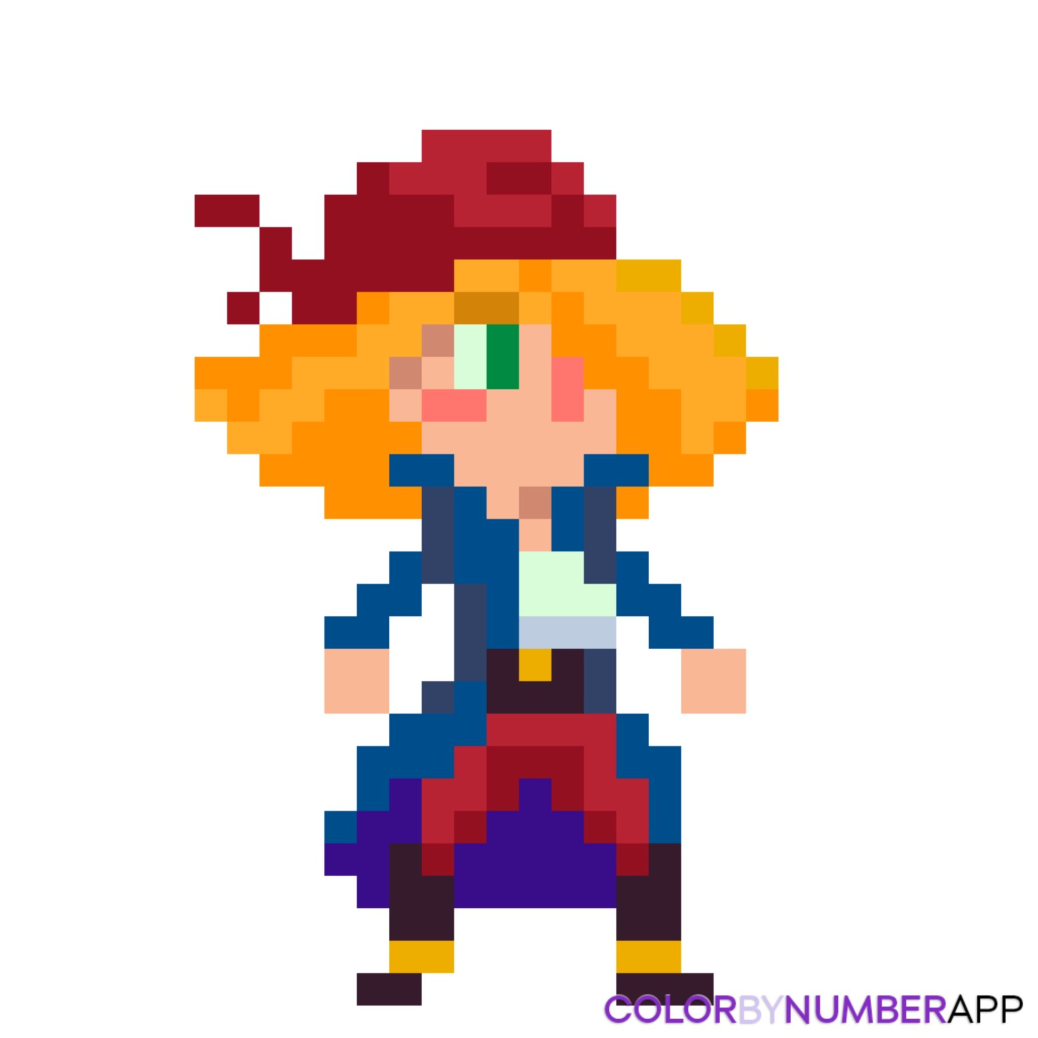 Pirate En Pixel Art Pixel Art Pinterest