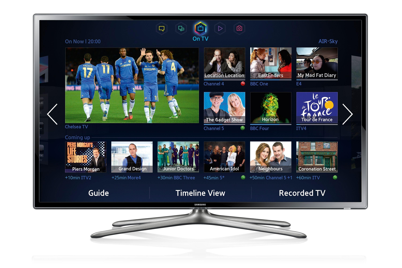 Samsung Led F6300 Series Smart Tv Hypi St Led Tv Smart Tv Tv Accessories