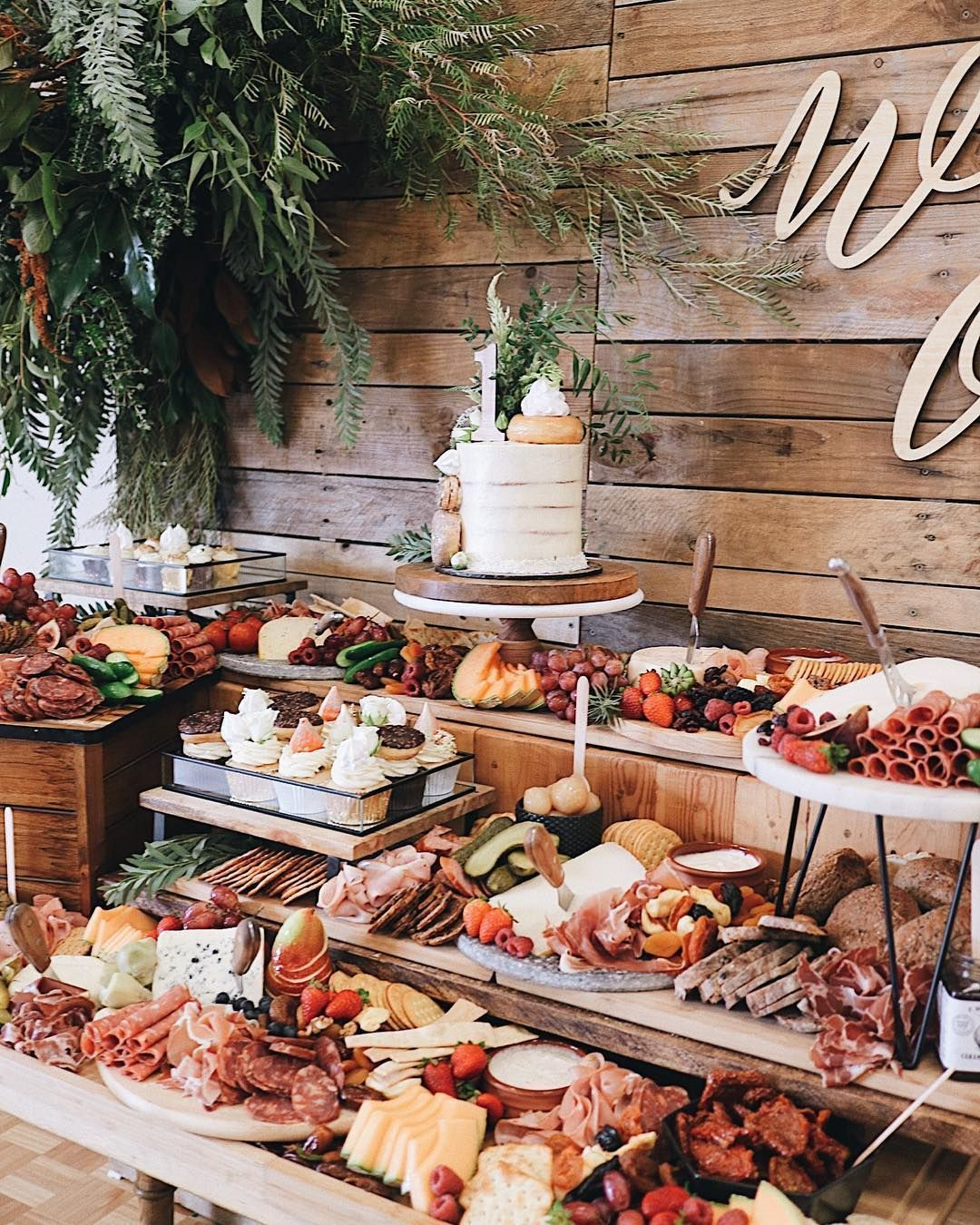 Appetizer Only Wedding Reception: 2020 Wedding Trends: 20 Charcuterie Board Or Table Ideas