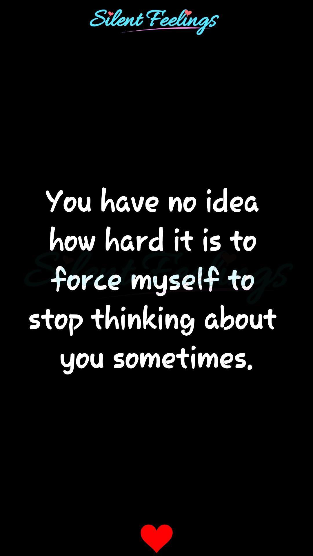You have no idea how