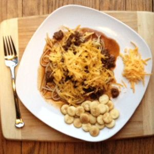 Cincinnati Chili | Kathy's Kitchen Table - This is a great meal for a cold night. Take a peak at this recipe to see what Cincinnati Chili is all about!