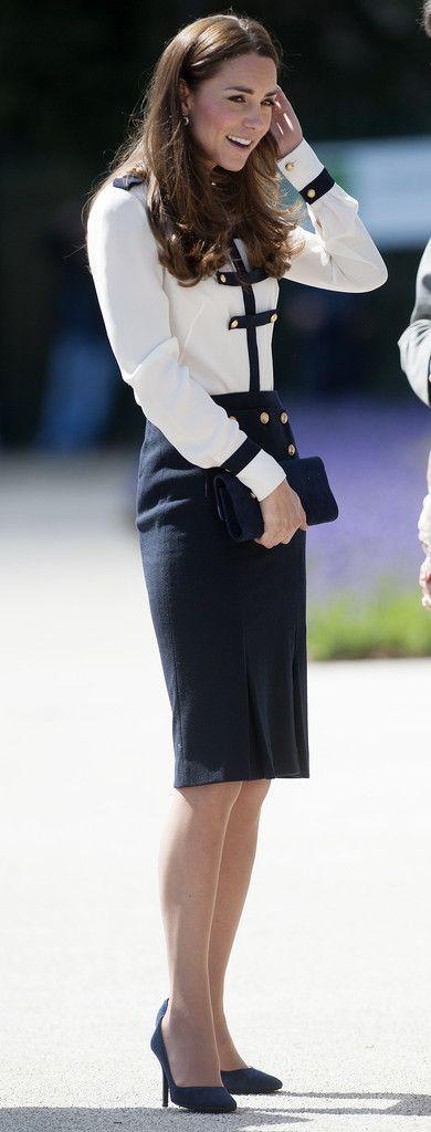 Kate Middleton Photos: Kate Middleton Visits Bletchley Park