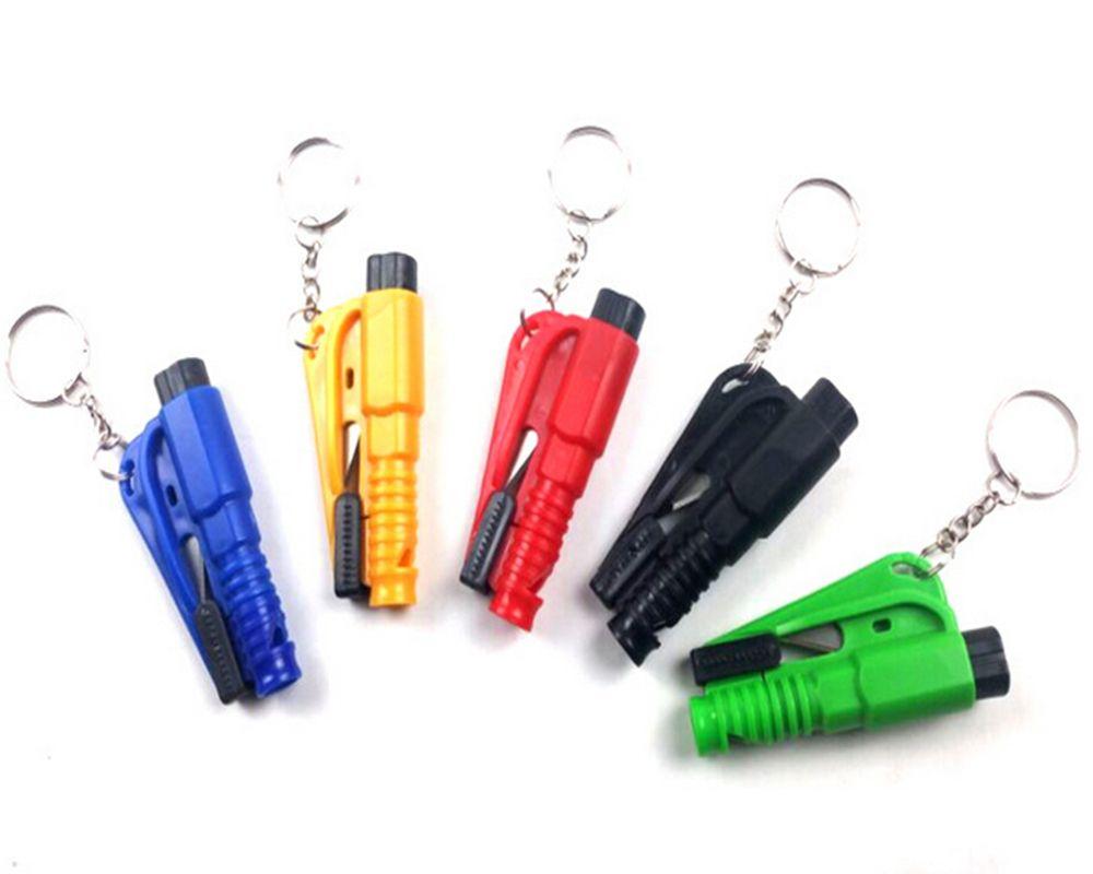 5PCS Emergency Hammer Car Auto Window Glass Breaker Seat Belt Cutter Escape Tool
