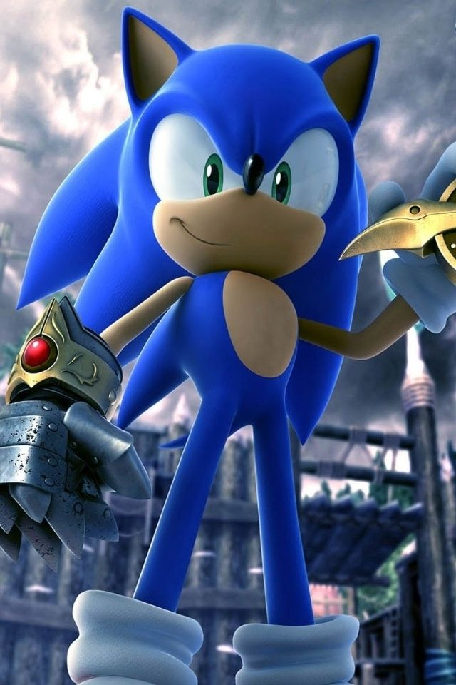Hd Cool 3d Sonic Game Iphone 3gs Wallpapers Backgrounds