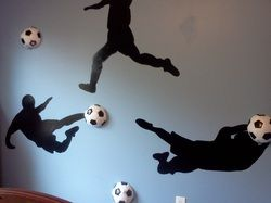 For the Soccer Player in Your Family & yes - those too are real soccer balls…
