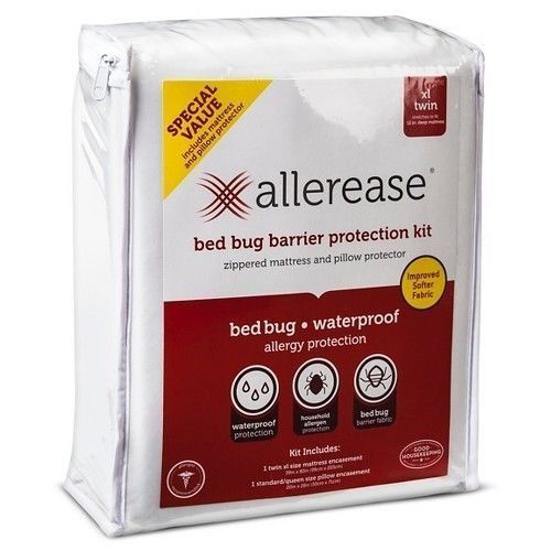 Allerease Bed Bug Barrier Protection Kit Xl Twin Zippe Https Www Amazon Com Dp B01lydfv3z Ref Cm Sw R Pi Dp X Bh Bug Barrier Pillow Protectors Bed Bugs
